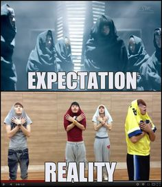 Pretty much... that is EXO for you! <3