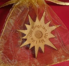 Personalised Wedding Favour Little Bag Of : Sunshine - Get Creative Unique table