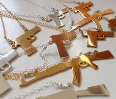 Large Weapon Necklaces