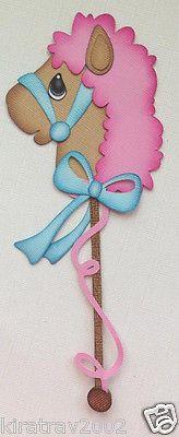Girl Kids Hobby Stick Horse Paper Piecing by My Tear Bears Kira | eBay