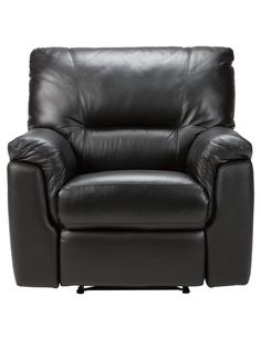 Put your feet up at the end of the day on a comfy leather recliner by Casa Roma.