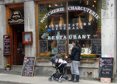 """Dubbed the """"Poor Man's Paris,"""" Montreal is more than just a French-speaking city for the wayfarer on a budget. It's an effortless blend of cultures where nearly everyone is bilingual, with a love of life—work to live, not live to work—and a near-constant thirst for a good glass of wine. French food markets pepper the landscape—boulangeries sell fresh-baked baguettes and pain au chocolat , fromageries showcase creamy Quebec-made cheeses, and butchers offer pates and sausages."""