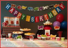 Brown Bear, Brown Bear, What Do You See Birthday Party