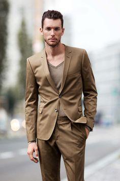 Strellson Premium casual look #casual #jacket #streetstyle #beard ...