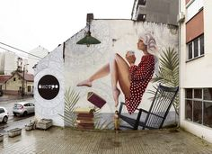 """Find your way to fly""  | Belgrade street art"