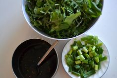 Green's Sweet and Spicy Kale Salad - The Fresh Find Easy Peanut Sauce, Homemade Peanut Sauce, Peanut Sauce Recipe, Fish Recipes, Asian Recipes, Snack Recipes, Filipino Recipes, Snacks, Green Vegetarian Cuisine