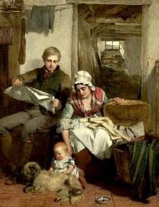 Faed, Thomas (1826-1900) My ain fireside
