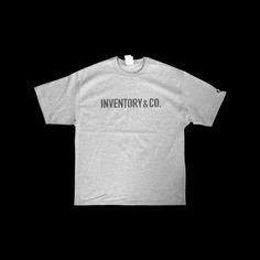 WORD IN LIFE by INVENTORY&CO. LOGO T SHIRT FRONT / OX GRAY   #WORDINLIFE #INVENTORYANDCO #INVENTORY #IANDC #WETAKEPRIDEINWORK
