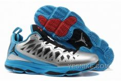 1abb2223539 Jordan CP3.VI Metallic Silver Black Signal Blue Blue Glow Buy Jordans