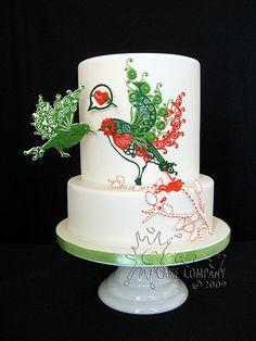 Threadcakes: Byebi by Crazy Cake Lady, via Flickr
