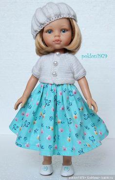 Ателье для Златы. Игровые куклы Паола Рейна 32 см / Paola Reina, Antonio Juan и другие испанские куклы / Бэйбики. Куклы фото. Одежда для кукол