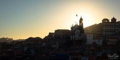 Coucher du soleil sur Porto depuis Sé