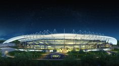 World Cup Stadium Design in Russia football rugby