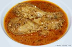 Chicken and aromatic spices cooked with caramelized onion and tomatoes based stew, Chicken Curry is very popular North Indian Dish. Follow our Step By Step recipe with pictures and make this dish y...