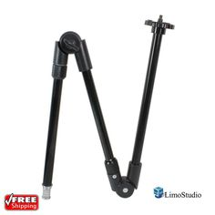 LimoStudio 3 Section 12 Inch Single Articulated Arm Camera Mount Bracket | Cameras & Photo, Lighting & Studio, Light Stand & Boom Accessories | eBay!