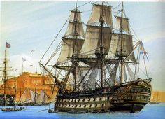 Russian Ship 'Azov' 1826
