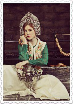 Beautiful Russian costume