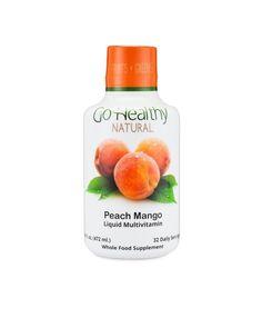 Delicious Peach Mango Liquid Multivitamin & Minerals