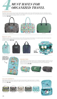 Love these bags from Initials, Inc! Spring & Summer 2014 Stylebook by Initials, Inc.