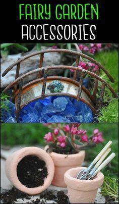 Fairy Garden Accessories Fairy Gardens Pinterest Fairy Garden