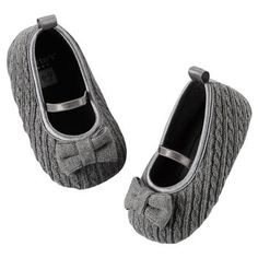 Carter's Cable-Knit Ballet Flats