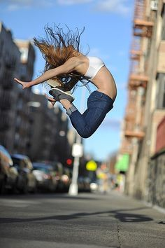 Sueltate, liberate y déjate llevar por el baile. #