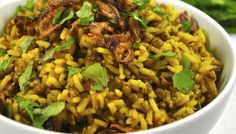 Middle Eastern Rice (Mejadra)
