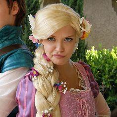 Rapunzel Tangled Dress Wig Disney Mandy Moore