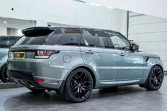 "2016 Range Rover Sport in custom color ""Scotia Gray"". What a beauty!!"
