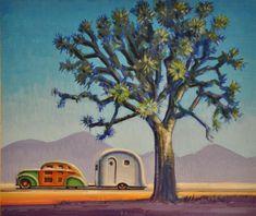 """""""Joshua Tree"""" original fine art by Robert LaDuke"""