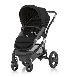 Affinity Stroller by Britax - Black base frame with Black color pack - Britax USA