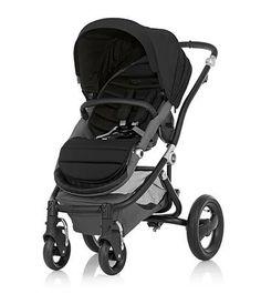Affinity Stroller by Britax - Black base frame with Black color pack - Britax USA