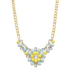 Bib Statement Necklaces: Passiana Sunflower, Women's (12 CAD) ❤ liked on Polyvore featuring jewelry, necklaces, jewelry & watches, yellow, sunflower necklace, multi color statement necklace, bib statement necklace, colorful statement necklace and multi colored statement necklace