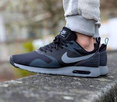 best website 1fea9 fd7eb Nike Air Max Tavas – Black   Cool Grey – Anthracite Girls Wearing Jordans,  Jordans