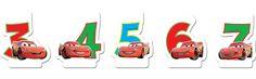 Cars 3 -numerokynttilä