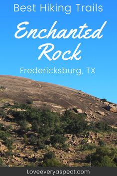 Then you should consider hiking Enchanted Rock! Surrounded by the beauty of Texas Hillcountry, its the perfect day hike. Hiking In Texas, Texas Roadtrip, Texas Travel, Travel Usa, Camping Texas, Colorado Hiking, Texas Vacations, Family Vacations, Hiking Places