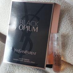 black opium YSL Yves saint Laurent perfume samples 5 - Depop Saint Laurent  Perfume aea90a9d5c419