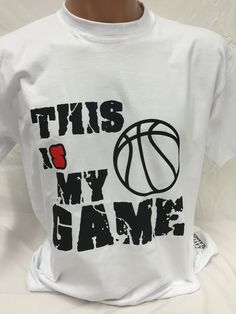 Basketball T-Shirt This is my Game