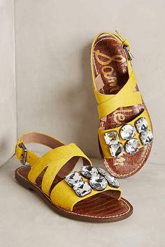 Sam Edelman Dorsey Jeweled Sandals - anthropologie.com