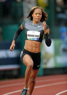 Sanya Richards-Ross                                                                                                                                  Country: United StatesSport: Track and FieldFun Fact: Her husband, Aaron Ross, plays defensive back in the NFL.