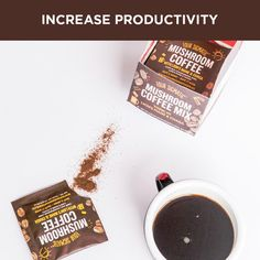 Certified Paleo and PaleoVegan Mushroom Coffee with Lion's Mane from @FourSigmatic