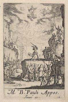 Jacques Callot | Martyrdom of Saint Paul, from The Little Apostles or the Martyrdom of the Apostles (Les Petits Apotres ou le Martyre des Apotres) | The Met