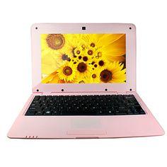 "v712 10,1 """" Android 4.2 mini laptop (via8880 dual core, memorie RAM de 1 GB, rom 4GB, WiFi, camera foto) – USD $ 92.99 Computer Love, Android 4, Mini, Laptop, Electronics Gadgets, Rome, Laptops"