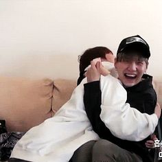 Can someone tell me WHO THE F IS HUGGING SUGA? Repost it and write it under if you know. I was trying to find it for half an hour. Because if it's Hoseok I'm crying tonight. K bye