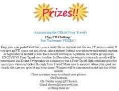 Our New Contest Startin September 1st!!
