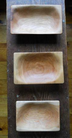 Cedric Martin, Pacama Handmade cherry bowls. Kingston, NY.