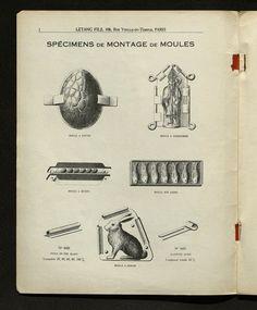 #moules à #gâteaux et à #bûches Bibliothèque Forney