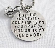 Items similar to Anchor Necklace - Rustic - My Captain - Compass - Nautical Necklace - Sterling Silver - Patricia Ann Jewelry Designs on Etsy Anchor Quotes, Anchor Tattoo Quotes, My Compass, Anchor Compass Tattoo, Anchor Necklace, Nautical Necklace, Tattoo Inspiration, Making Ideas, Tattoo Designs