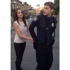 Troian and Keegan on set for Pretty Little Liars Season 5 Episode 15