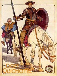 Don Quichote Illustration von ? English Frases, Dom Quixote, Impossible Dream, Wonder Woman, Horses, Draw, Superhero, Illustration, Fictional Characters